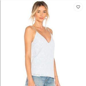 NWT revolve  by the way blue star tank top